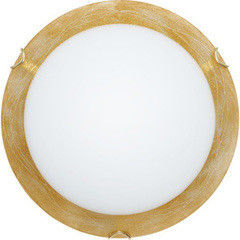 Настенно-потолочный светильник Декора 25140 Мираж золото