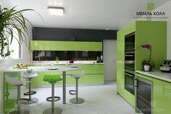 Кухня Кухня Мебель Холл Мента