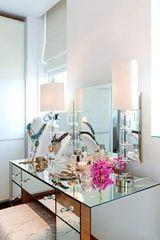 Туалетный столик Valtera Модель №1 из стекла