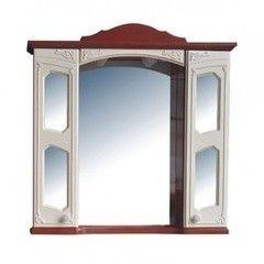 Мебель для ванной комнаты Атолл Шкаф Мастер и Маргарита орех белый