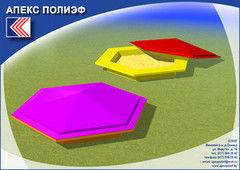 Апекс Полиэф песочница КД 14.001