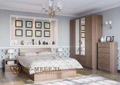 Спальня SV-Мебель Вега 0119 (ясень шимо темный)