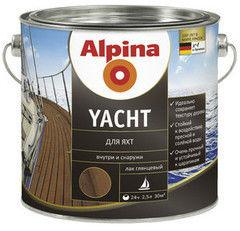 Лак Лак Alpina Yacht (глянцевый) 2.5 л