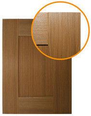 Мебельный фасад Мебельный фасад ЗОВ-Профиль Техно 5 ПП Орех Макадамия
