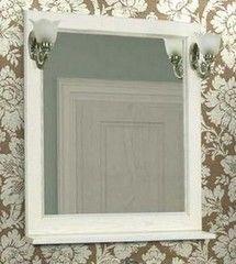 Мебель для ванной комнаты Акватон Зеркало Жерона 85 (1A158702GEM20) белое серебро