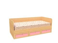 Детская кровать Детская кровать Феникс-Мебель Машенька Модуль 13