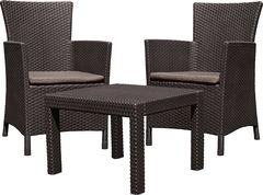 Keter Комплект мебели Розарио балкон (Rosario balcony set) коричневый