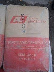 Цемент Akmenes Cementas CEM I 42.5R / М500 Д0