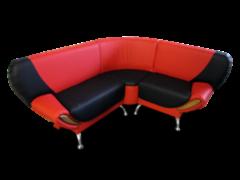 Кухонный уголок, диван Виктория Мебель Шарм угловой П 497
