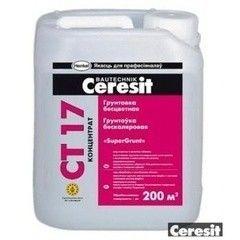 Грунтовка Грунтовка Ceresit CT 17 «SuperGrunt» 10 л