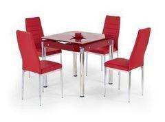 Обеденный стол Обеденный стол Halmar Kent (красный)