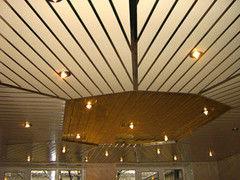 Подвесной потолок Подвесной потолок Албес Немецкий дизайн (реечный)