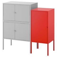Шкаф металлический IKEA Ликсгульт 192.791.82