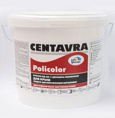 Краска Краска Centavra Поликолор ВД-АК-5 водно-дисперсионная акриловая для крыш и цоколей, серая (15кг)