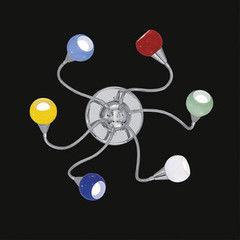 Настенно-потолочный светильник Ideal Lux TENDER PL6 COLOR