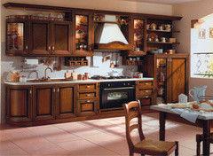 Кухня Кухня Алфексгрупп №31 (Натуральное дерево)