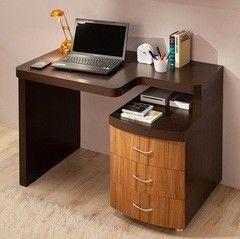 Письменный стол Глазовская мебельная фабрика Элегия-1 венге/ палисандр темный