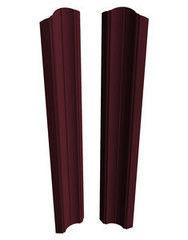 Забор Забор Скайпрофиль Штакетник вертикальный M-96 двусторонний бразильский орех