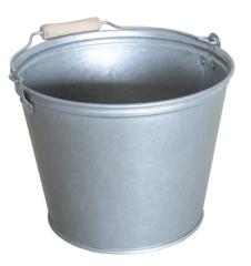Посадочный инструмент, садовый инвентарь, инструменты для обработки почвы Четырнадцать Ведро с деревянной ручкой (0.55) 12 литров