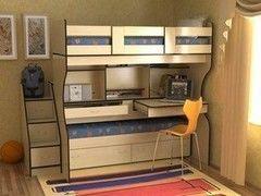 Двухъярусная кровать СлавМебель Дуэт 4