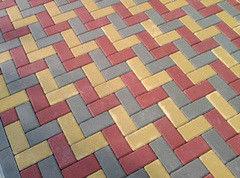Тротуарная плитка Тротуарная плитка Завод «Белбрук» Кирпичик 198х98х80 мм (цветной)