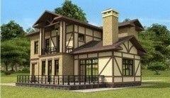Загородный дом проект Проект дома Престиж 3