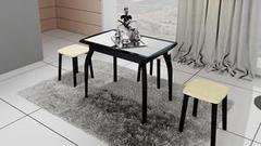 Обеденный стол Обеденный стол ТриЯ Стамбул (мини) на деревянных ножках