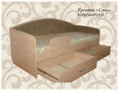 Детская кровать Детская кровать Kapkar-mebel Соня