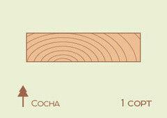 Доска обрезная Доска обрезная Сосна 25*125 мм, 1сорт