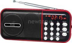 Радиоприемник Радиоприемник Max Радиоприемник Max MR-321 черный/красный
