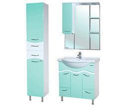 Зеленая мебель для ванной Bellezza Мари 75 см