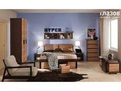 Спальня Глазовская мебельная фабрика Hyper 01