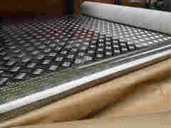 Металлический лист Металлический лист Impol Seval алюминиевый рифленый Квинтет 4мм (1.2х3м)