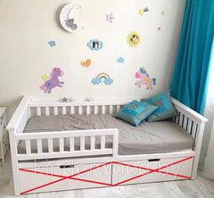 Детская кровать Детская кровать Kinderwood Лотос-5 (белая)