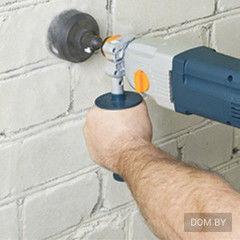 Услуга Сверление отверстия под электроточку (кирпич)