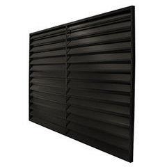 Забор Забор Скайпрофиль Жалюзи металлический 1540 покрытие одностороннее RAL9005
