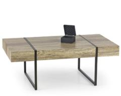Журнальный столик Halmar Tiffany (дикий дуб/ черный)