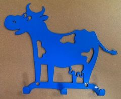 Полкодержатель, крючок Отис-сервис Крючок декоративный Буренка (синий)
