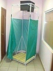 Летний душ для дачи Летний душ для дачи Метлес Чистюля с подогревом (сборный)