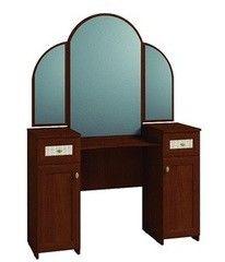 Туалетный столик Глазовская мебельная фабрика Милана 1 с зеркалом (орех)