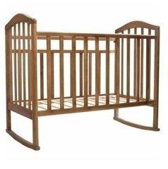 Детская кровать Кроватка Антел Алита 2 орех