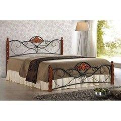 Кровать Кровать Halmar Valentina (античная черешня)