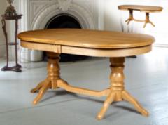Обеденный стол Обеденный стол Мебель-Класс Зевс ОРО-02 белый/золотая патина