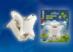 Детский светильник Uniel DTL-308-Бабочка/RGB/3LED/0,5W
