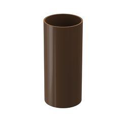 Водосточная система Docke Dacha Труба водосточная 3/2/1 м (светло-коричневый)