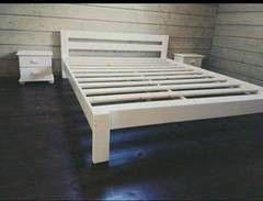 Кровать Кровать Европротект Из массива сосны с покраской (1800х2000) - белый
