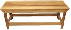 Мебель для бани и сауны Липа Лавка 1000x445x400