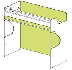Двухъярусная кровать SoftForm Силуэт СФ-268804