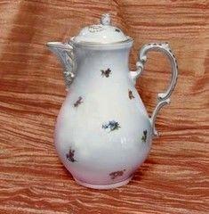 Cesky Porcelan Кофейник с крышкой Rokoko Газенка 70025/53003 (1.55л)
