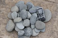 Натуральный камень Натуральный камень GabionCity Галька речная плоская разнооттеночная